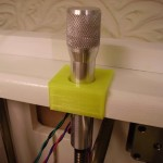 3D Printer Metal Z Handle Fitted
