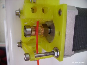3D Printer Extruder without Idler