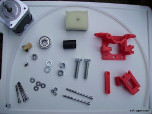 1.75mm 3D Printer Extruder Parts
