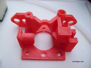 3D Printer Extruder Printed Body