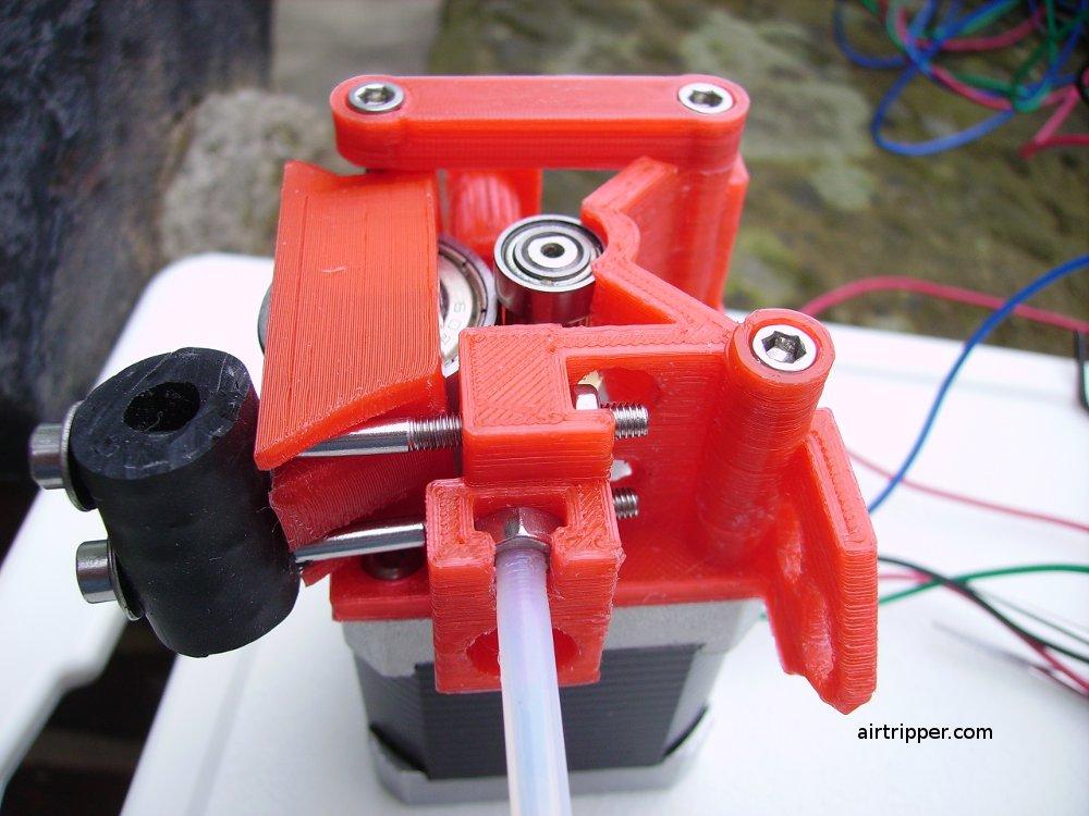 3d printer surgery 4 extruder upgrade part 3 airtripper for Print head stepper motor