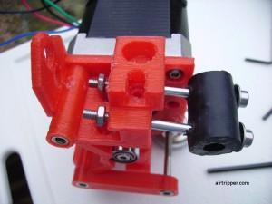 3D Printer Extruder Idler Preloader Assembly