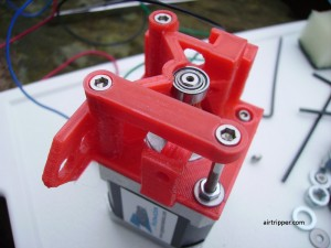 3D Printer Extruder Strut Assembly