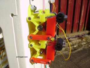 Airtripper's 3D Printer Twin Drive Extruder