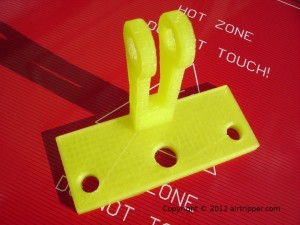 3d printed dial bracket