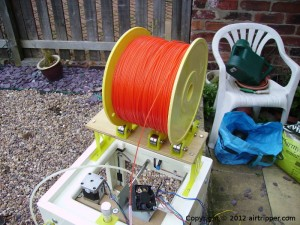 Sumpod 3D Printer with Filament Spool