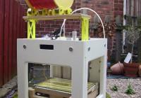 Sumpod 3D Printer With Reel Roller Shelf