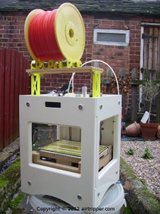 Sumpod 3D Printer With Reel Roller Rack