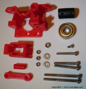 3D Printer Direct Drive Bowden Extruder Parts