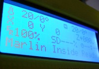 Marlin Firmware v1 on 20x4 LCD Panel Display