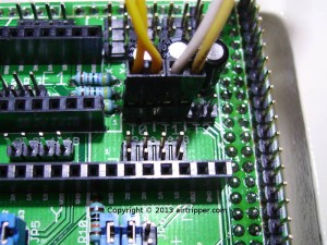 RAMPS 1.3 Temperature Connectors T0 & T1 Connected