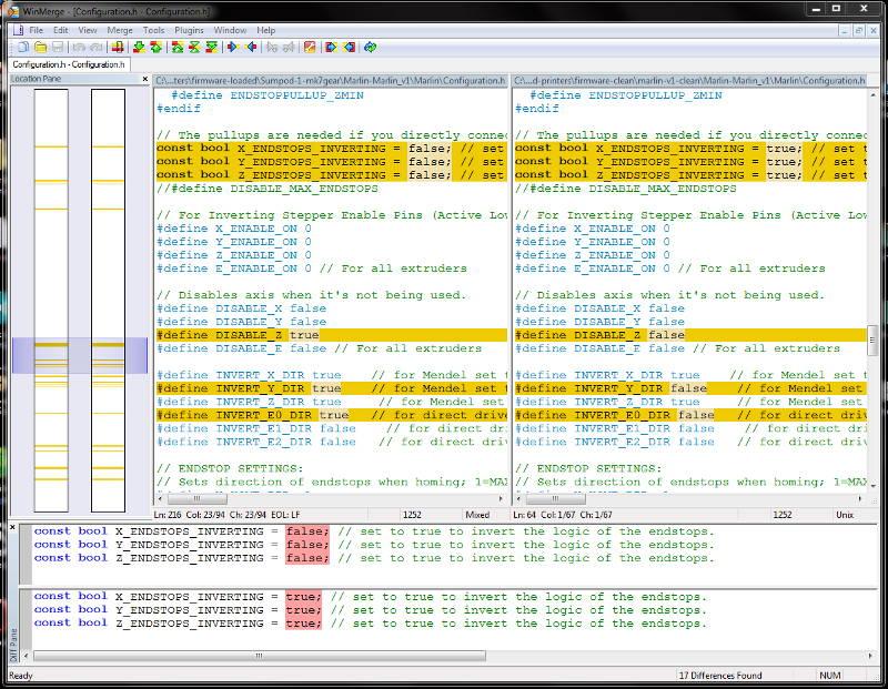 Marlin Firmware v1, Basic Configuration Set-up Guide
