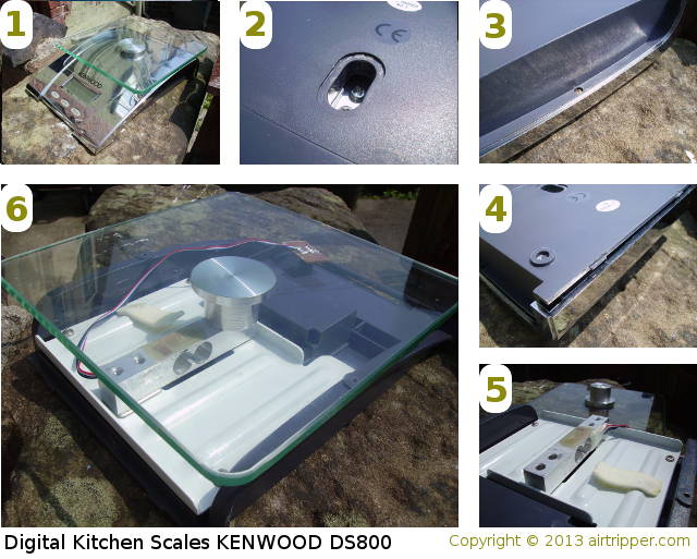KENWOOD DS800 Electronic Digital Kitchen Scales Teardown