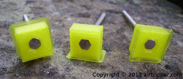 Hex Nut Capture Socket Calibration For 3D Printing