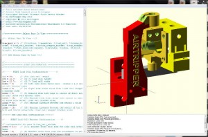 OpenSCAD Application Window View