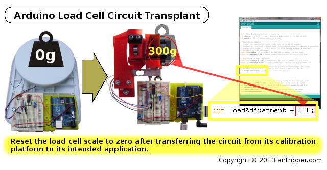 Arduino Load Cell Circuit Transplant