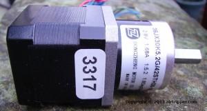 NEMA-17 Bipolar 5.2:1 Planetary Gearbox Stepper Motor