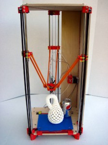 Rostock (delta robot 3D printer)