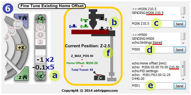 Step 6 - Fine Tune Existing Home Offset Setting