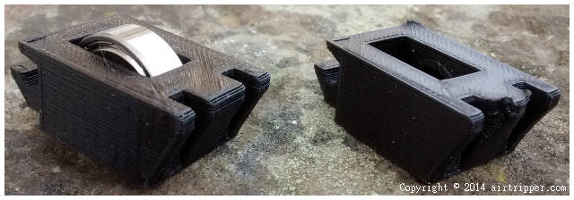 Different Black Filament 3D Printed with Same G-code